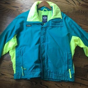 Columbia Jacket Windbreaker Vintage 1990s size XL